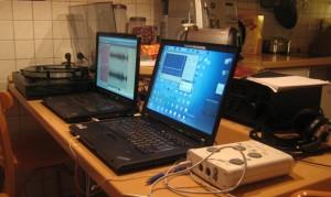 Plattenkonvertierung Hardwareaufbau